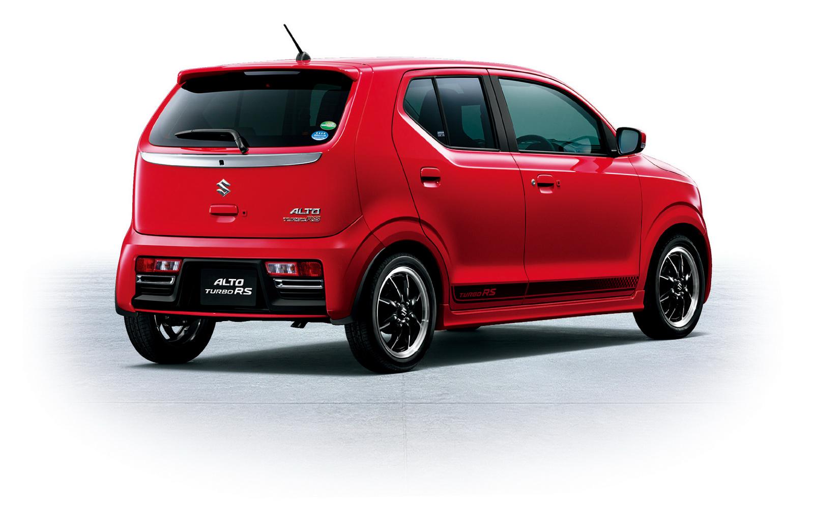 Suzuki Alto kei-car moze miec naped na 4 kola