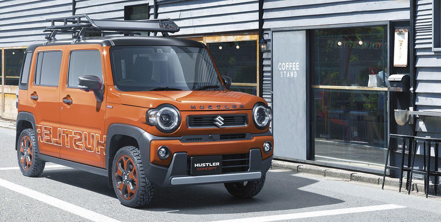 Suzuki Hustler to kei-car wielkosci Smarta
