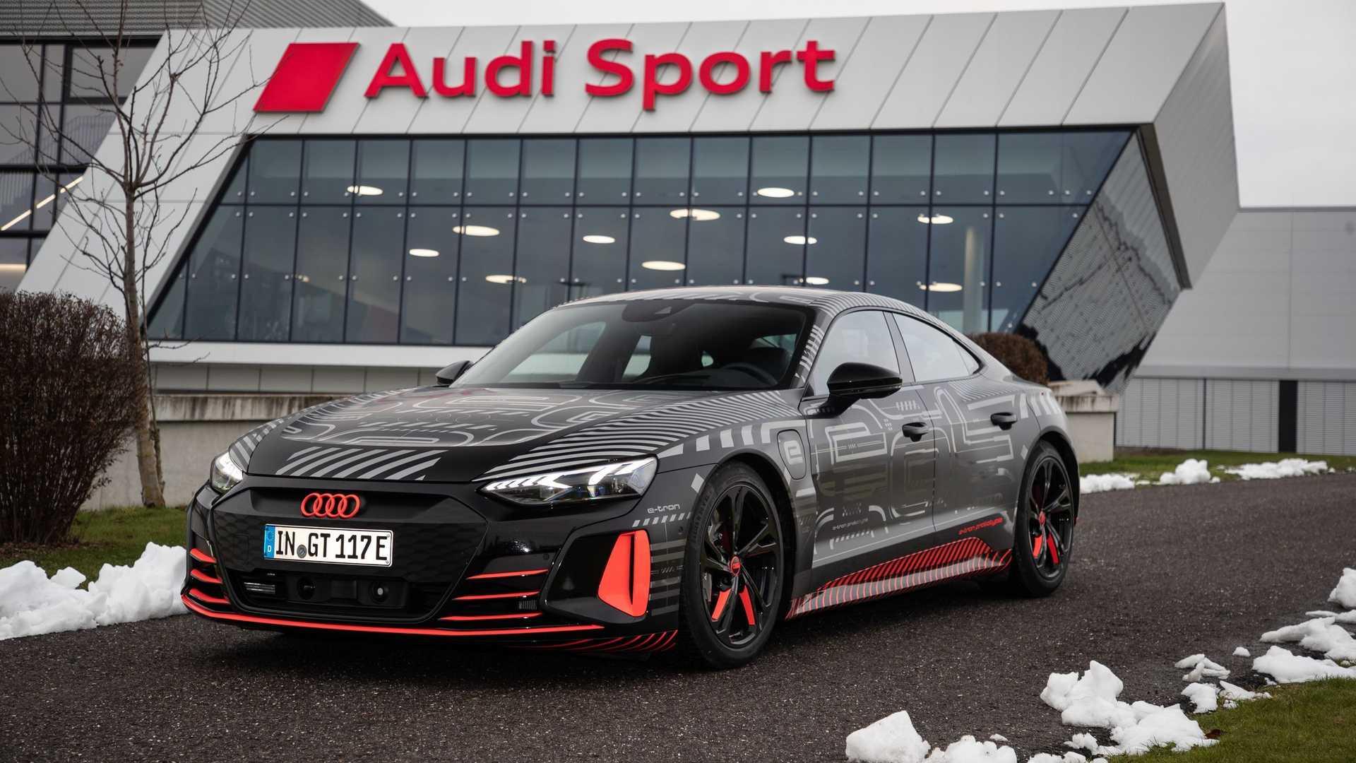 elektryczne Audi e-tron GT
