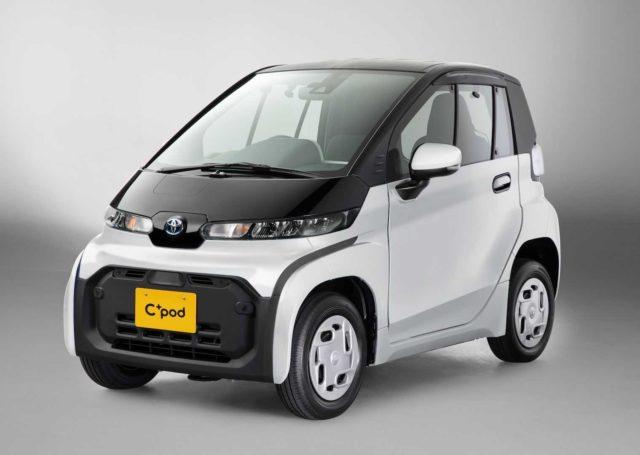 Toyota C+pod – ultrakompaktowa mobilność