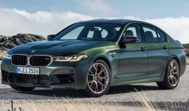 BMW M5 CS w pełnej krasie. Ma 636 KM