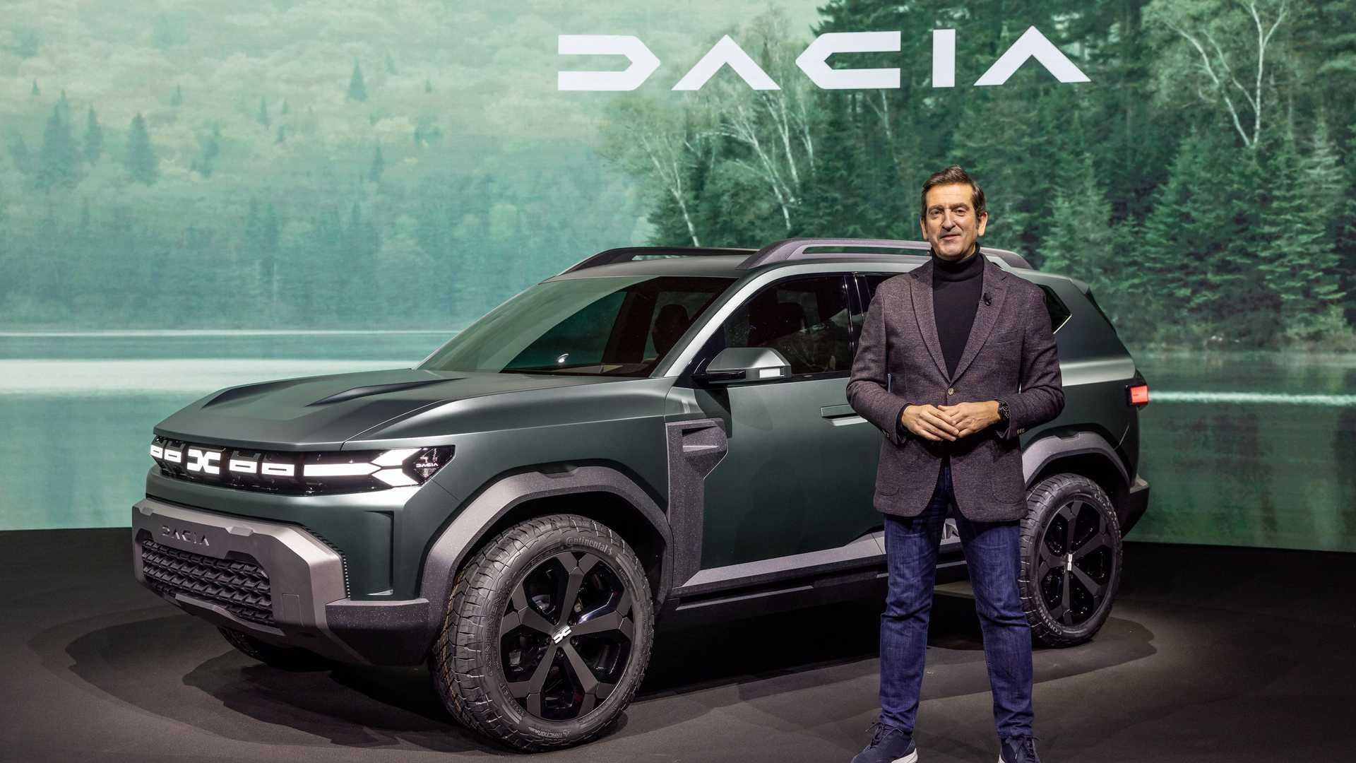 Dacia Bigster debiutuje jako koncept