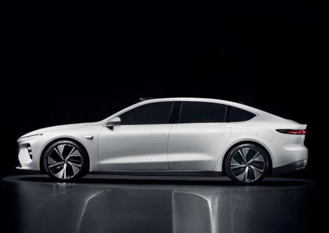 Nio ET7 to elektryczny sedan o zasięgu 1000 km