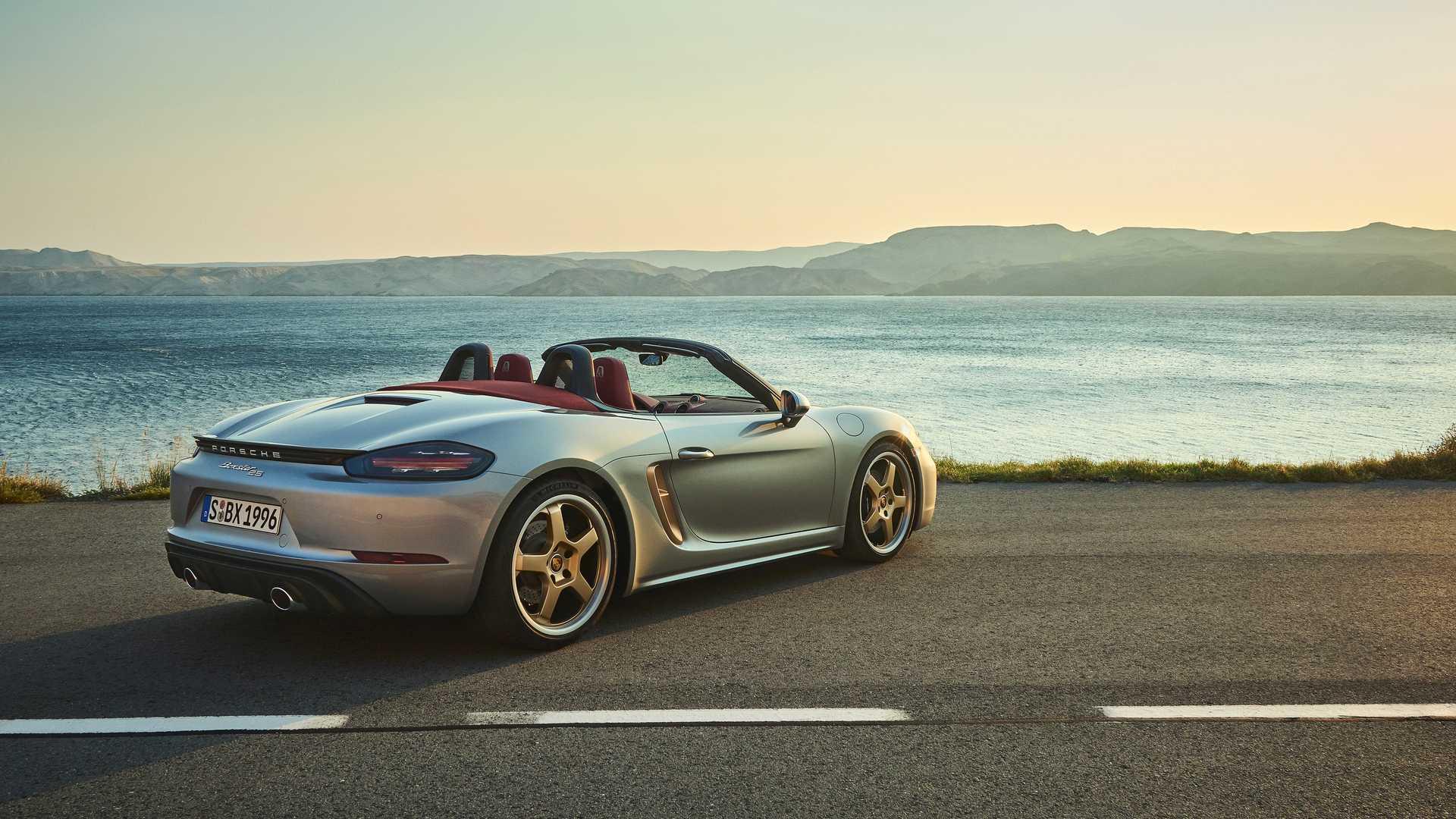 Porsche Boxster 25 wydanie jubileuszowe