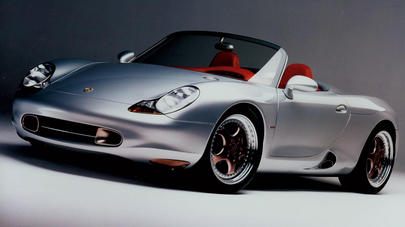 Porsche Boxster koncept