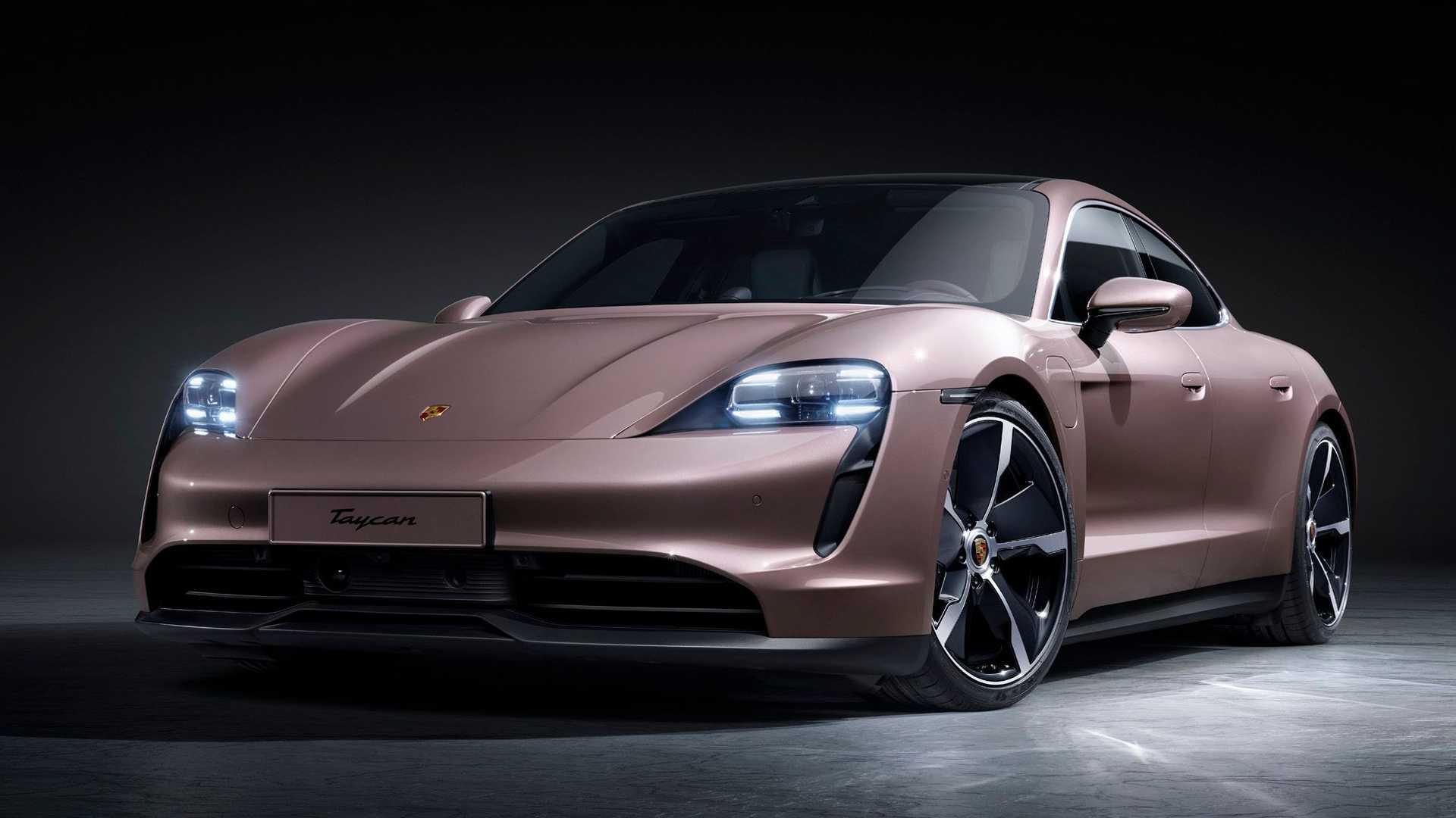 Porsche Taycan bazowa wersja