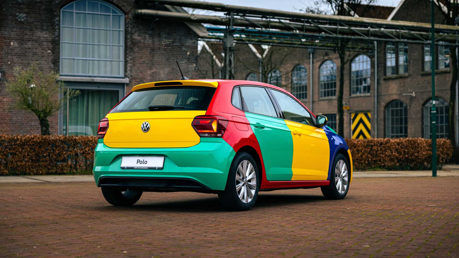 Volkswagen Polo Harlekin powstal w jednym egzemplarzu