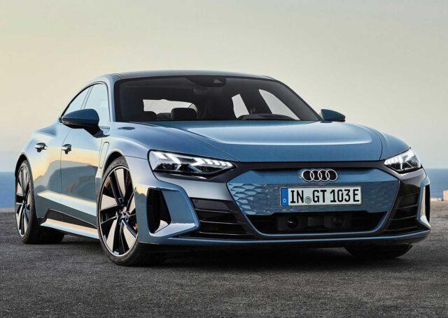 Audi E-Tron GT Quattro i RS E-Tron GT w pełnej okazałości