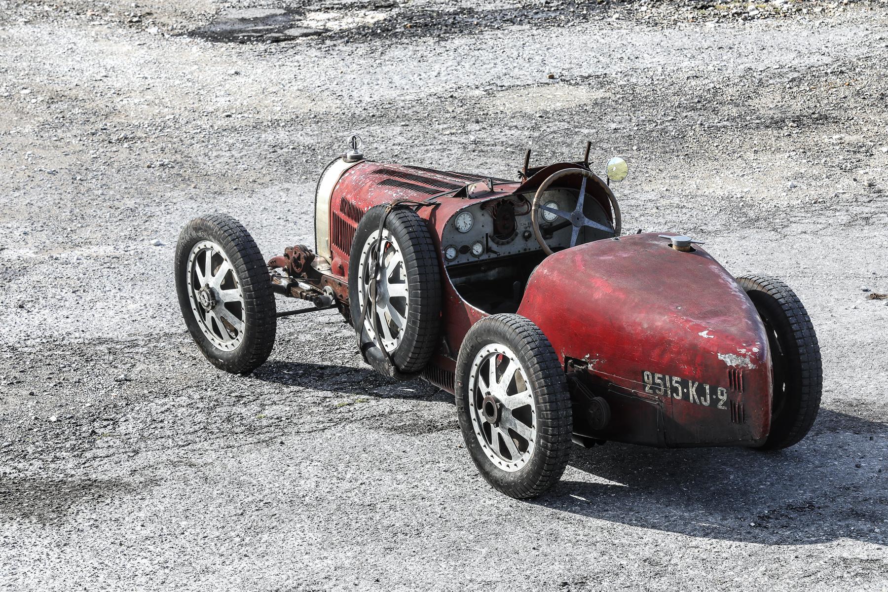Bugatti Type 35C trafilo na aukcje