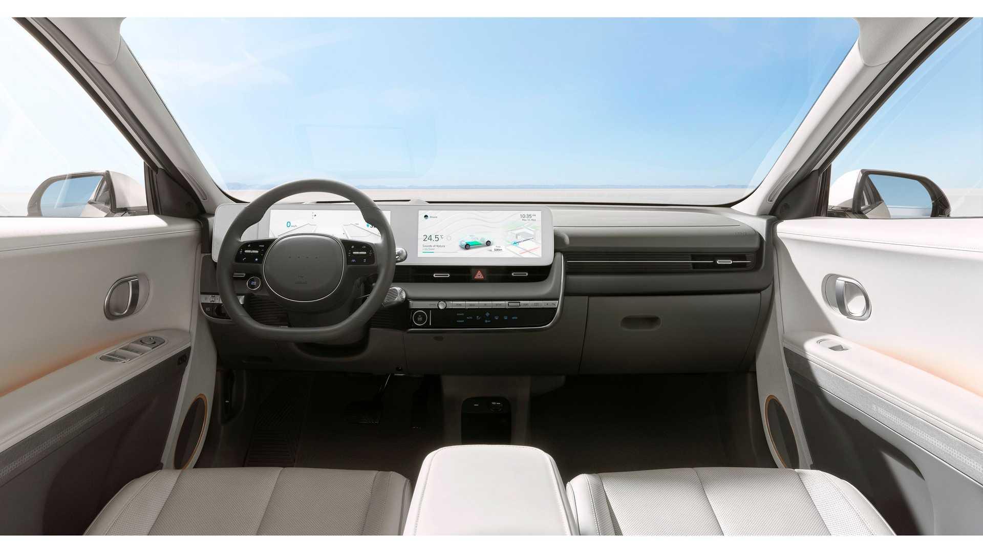 Hyundai Ioniq 5 kokpit