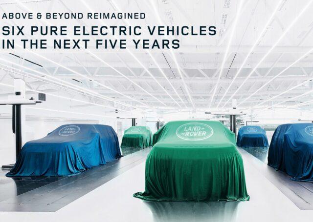 Land Rover wyłącznie na prąd od 2030. Elektryczny Jaguar jeszcze wcześniej
