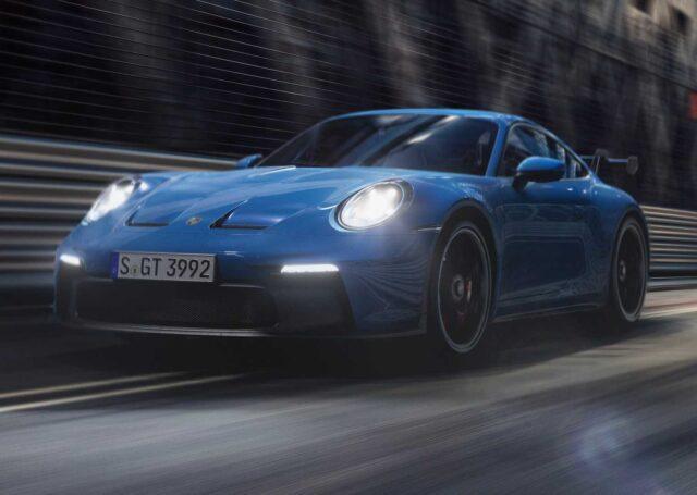 Porsche 911 GT3 już jest. Ma manualną skrzynię