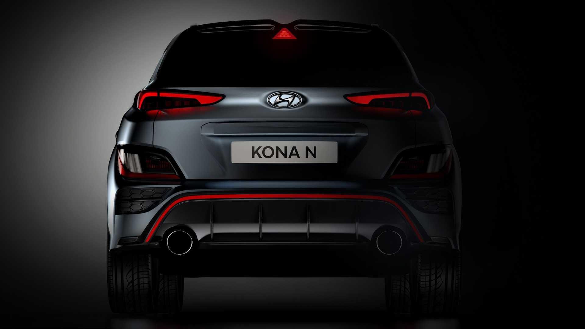 Hyundai Kona N ma zadziorny sportowy wyglad