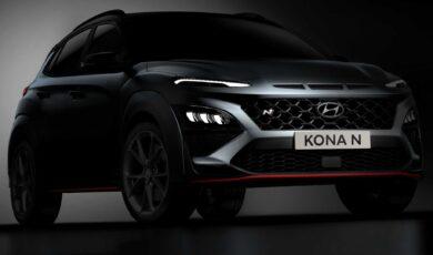 Hyundai Kona N na nowych zdjęciach