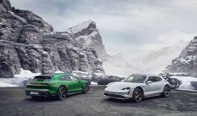 Porsche Taycan Cross Turismo na bezdroża