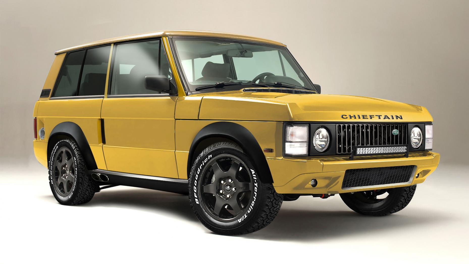 Chieftain Range-Rover Extreme to interpretacja Range Rovera z lat 70