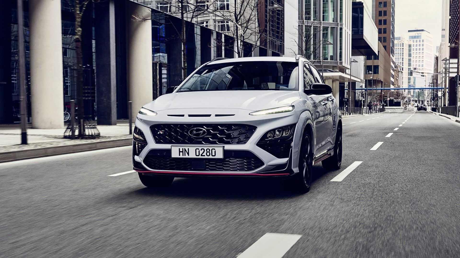 Hyundai Kona N na drodze