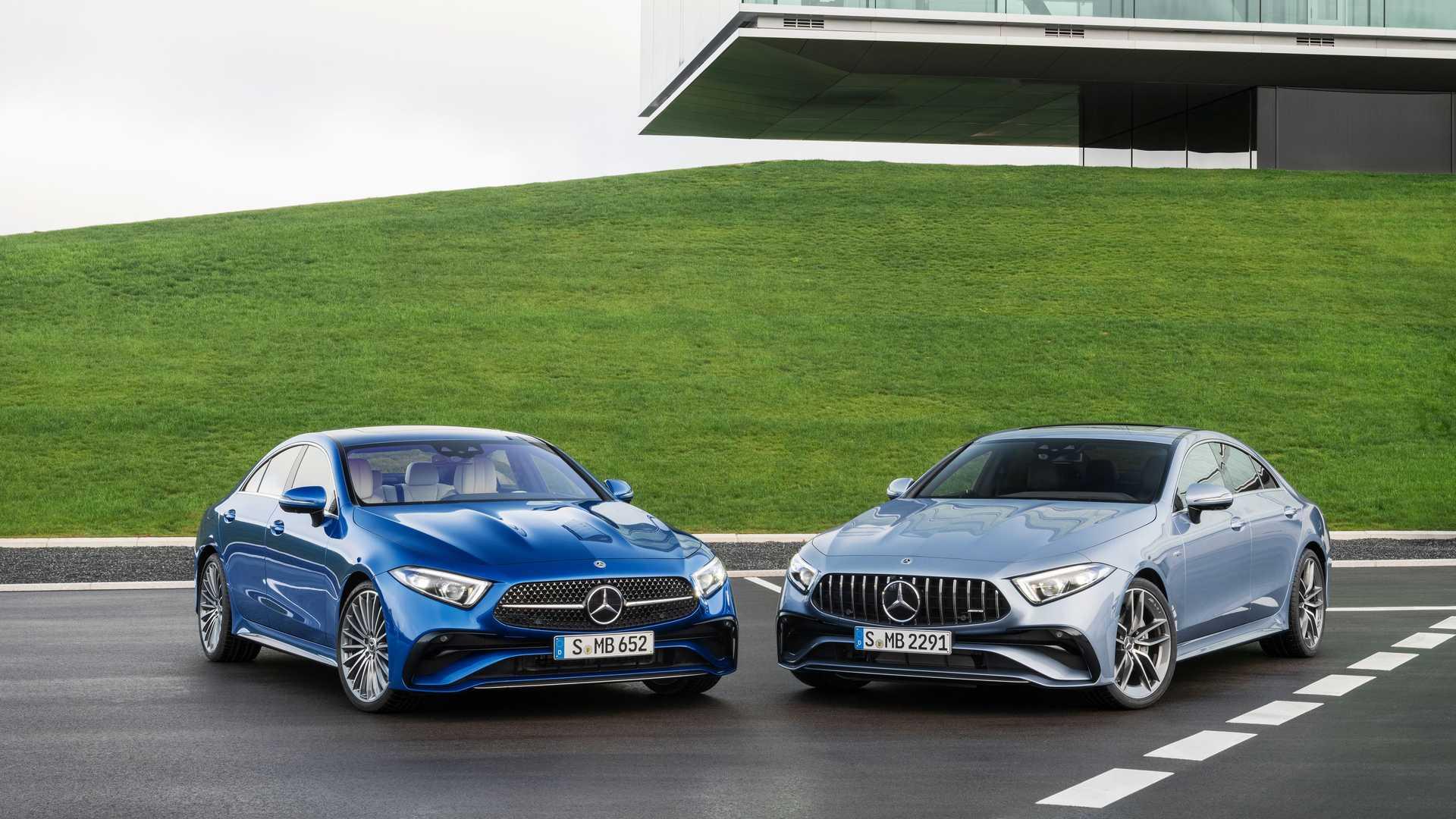 Mercedes CLS lifting