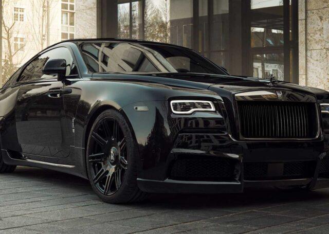 Rolls-Royce Wraith Black Badge Overdose w stylu gangsta