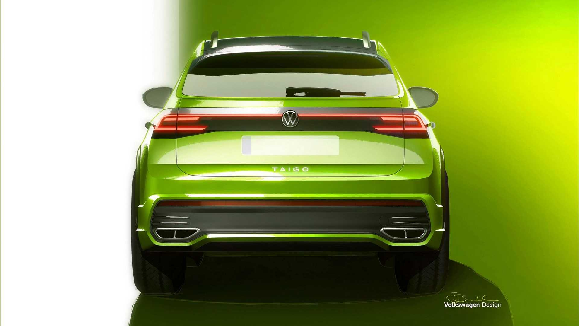 Volkswagen Taigo szkic nowego crossovera