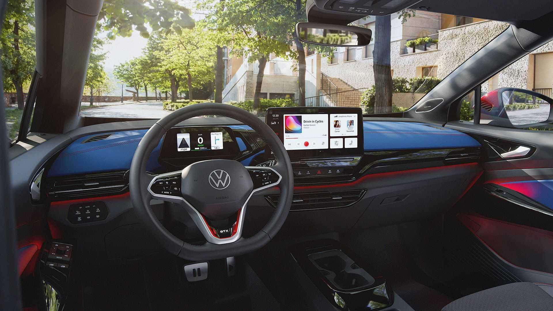 Volkswagen ID.4 GTX wnetrze