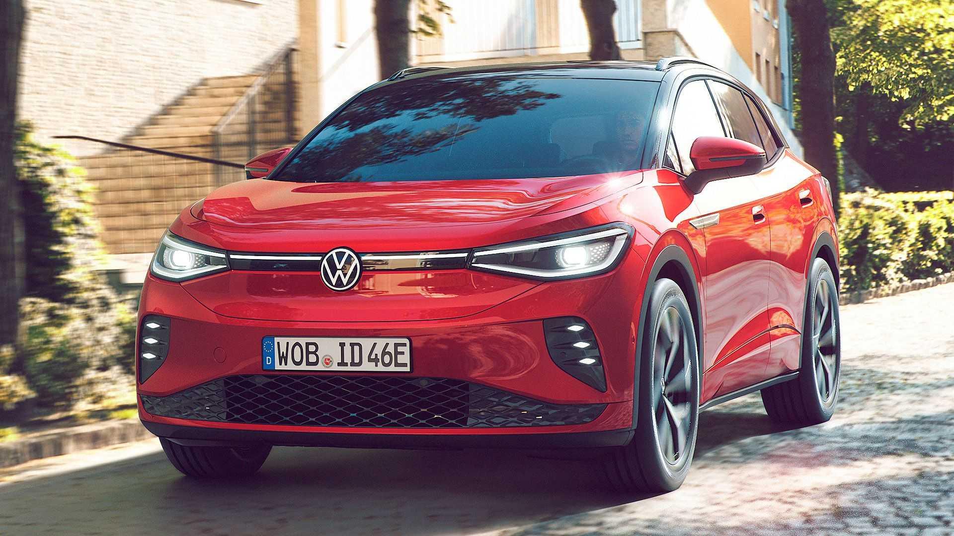 Volkswagen ID.4 GTX o sportowych aspiracjach