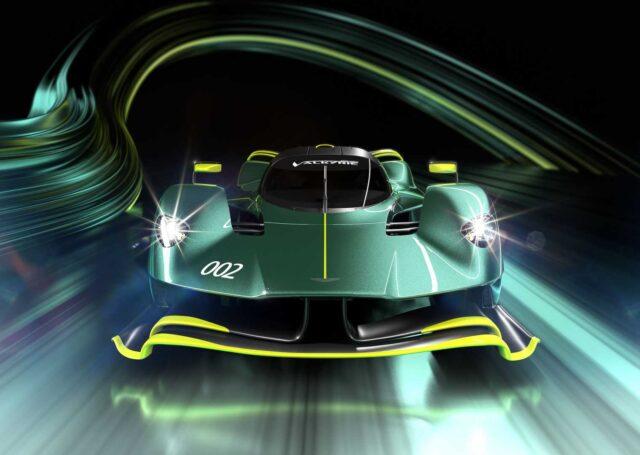 Tak wygląda torowy Aston Martin Valkyrie AMR Pro