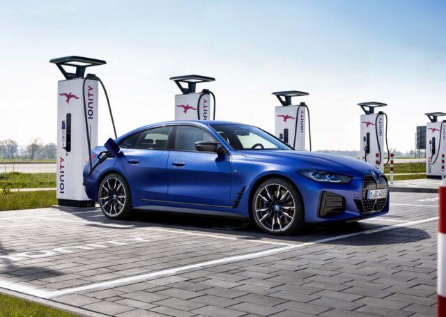 BMW i4 M50 łączy markę M z prądem