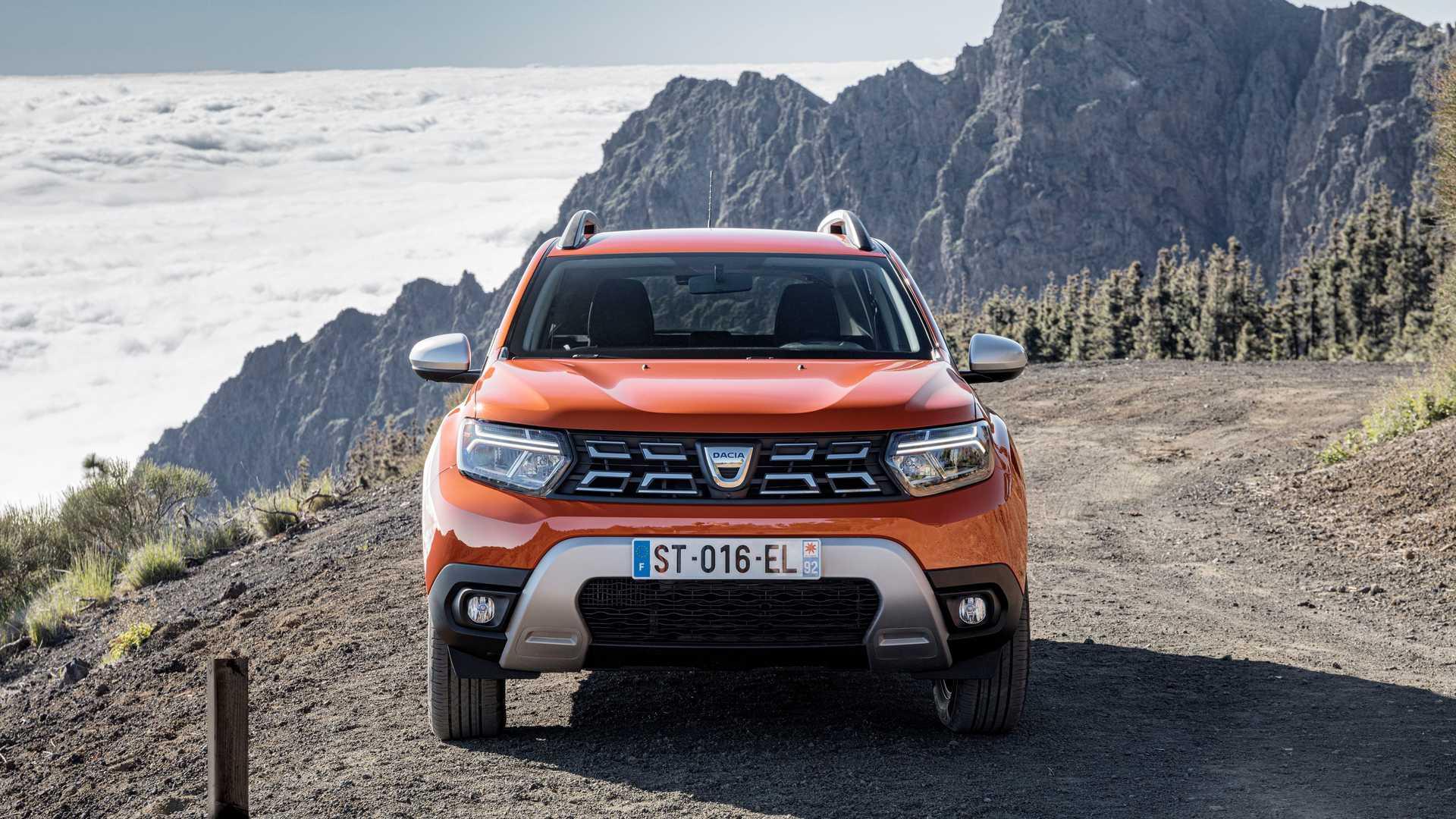 Dacia Duster lifting