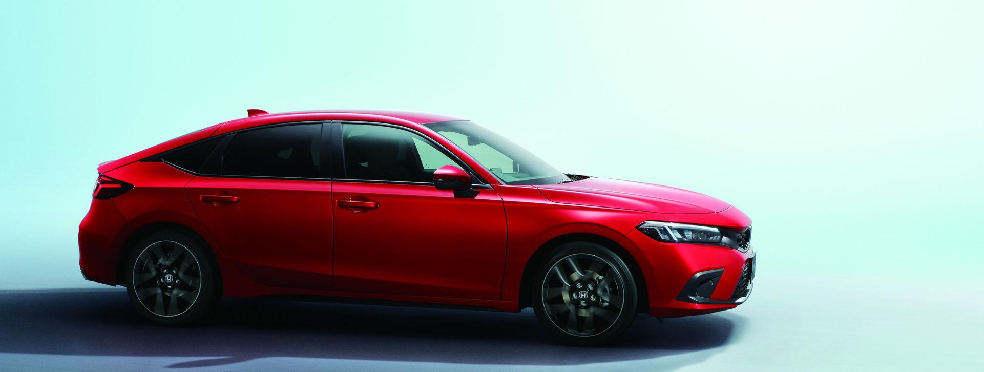 Profil samochodu Honda Civic hatchback