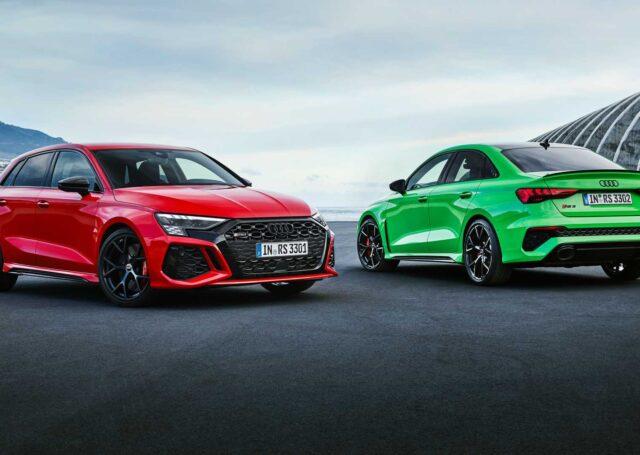 Nowe Audi RS3 z mocnym 400-konnym silnikiem i trybem drift