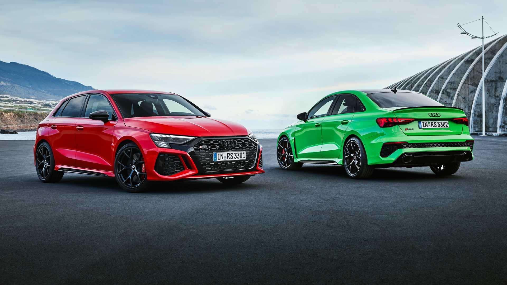 Audi RS3 w wersji sportback i sedan