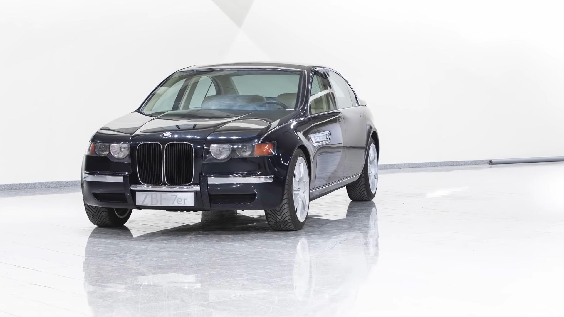 BMW ZBF 7er to koncept z lat 90. z wielkimi nerkami