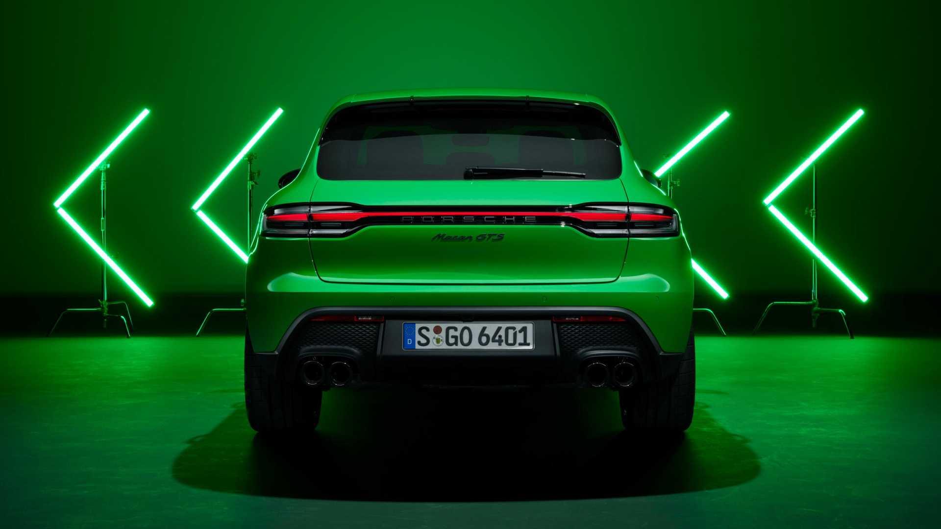 Porsche Macan GTS lifting