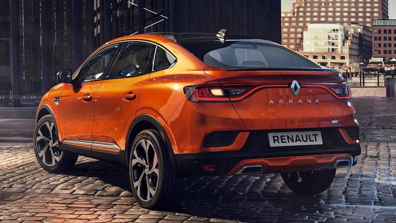 Renault Arkana coupe