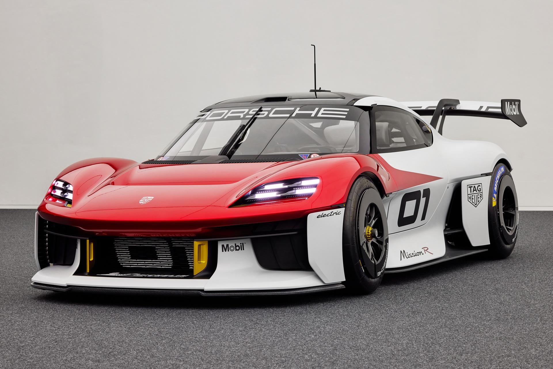 Porsche Mission R prototyp