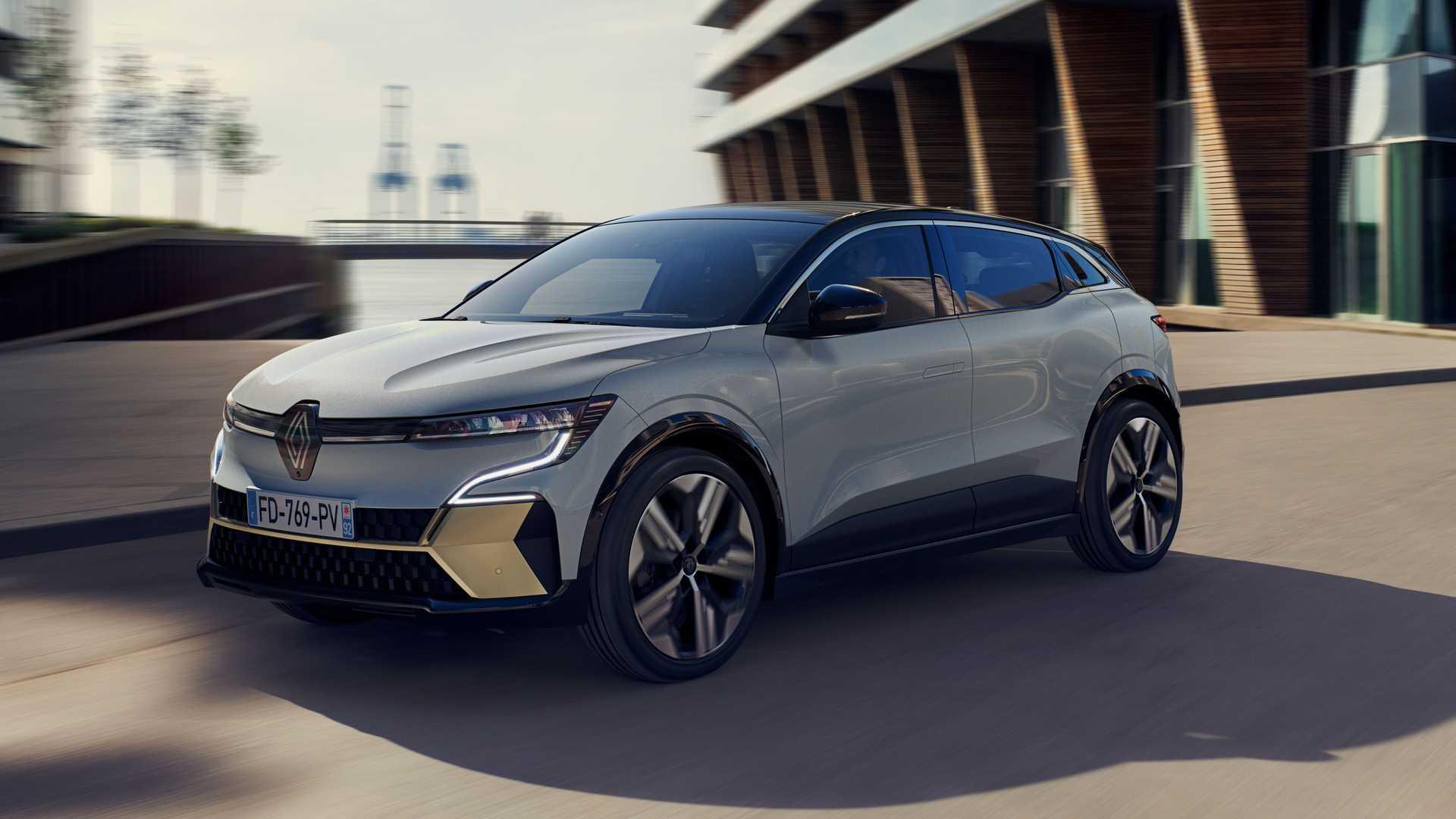 Renault Megane E-Tech elektryczny crossover