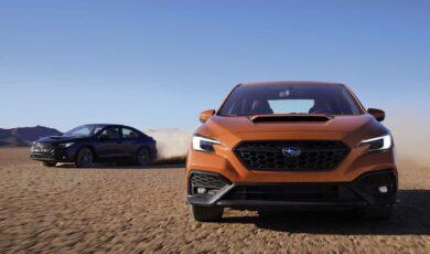 Subaru WRX wjeżdża na rynek