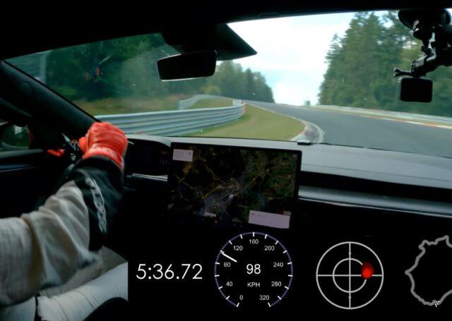Tesla daje kuksańca Porsche na Nurburgringu