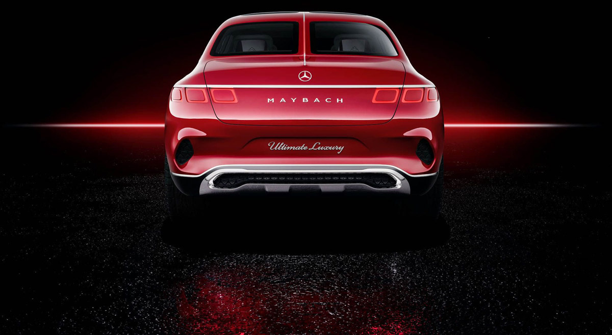 Vision Mercedes-Maybach Ulitimate Luxury