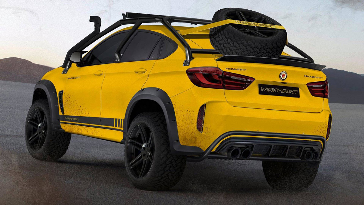 BMW X6 Manhart