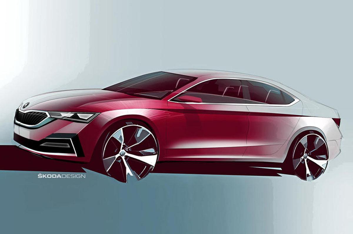 Škoda predstavuje grafické new Octavia