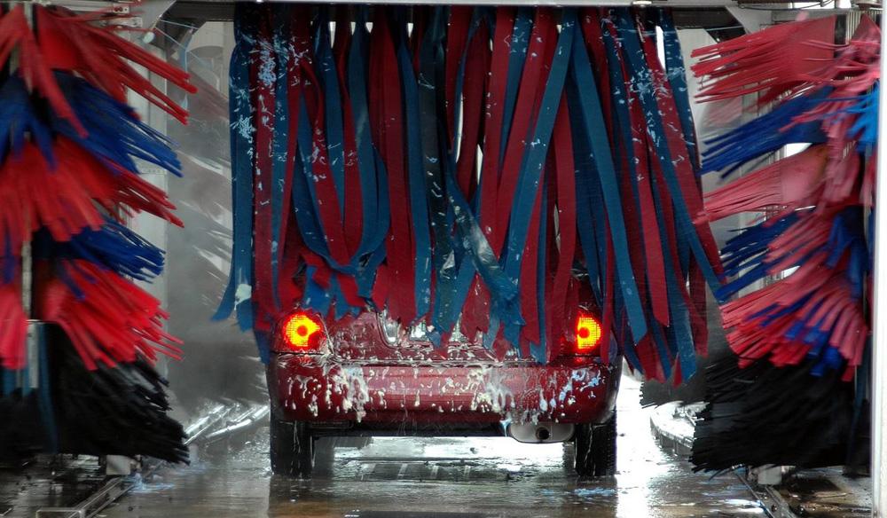 Tipy mycie auta