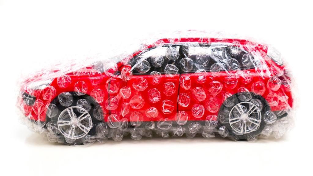 Mytí auta vzimě