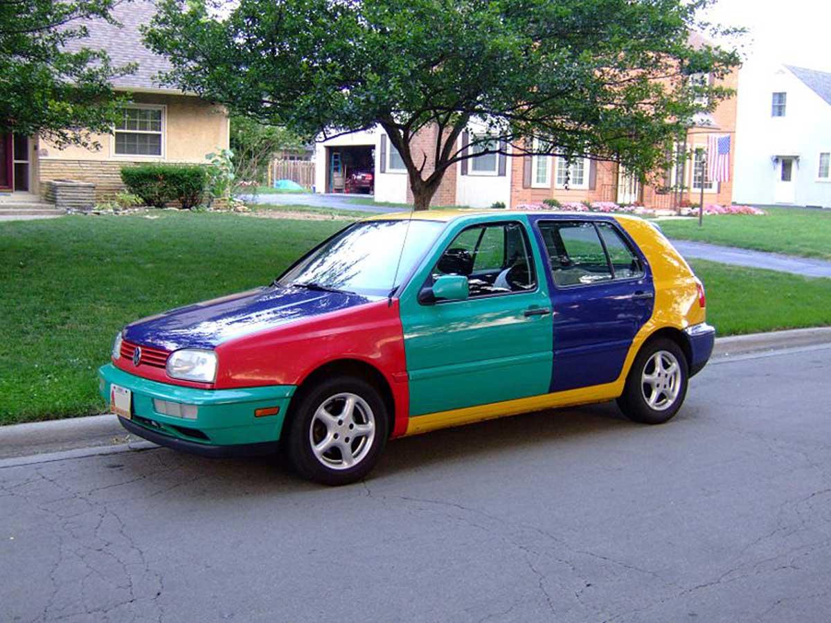 Volkswagen Golf Harlequin Edition