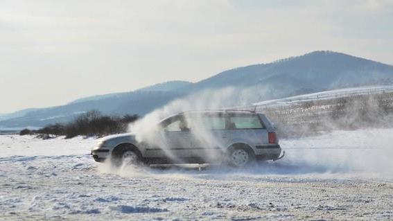 Zimný drift