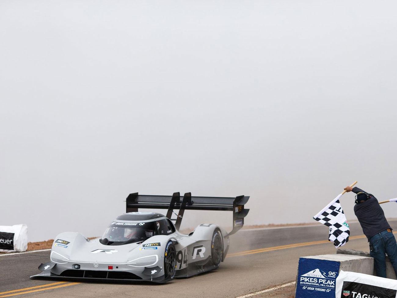 Volkswagen z rekordem na Pikes-Peak