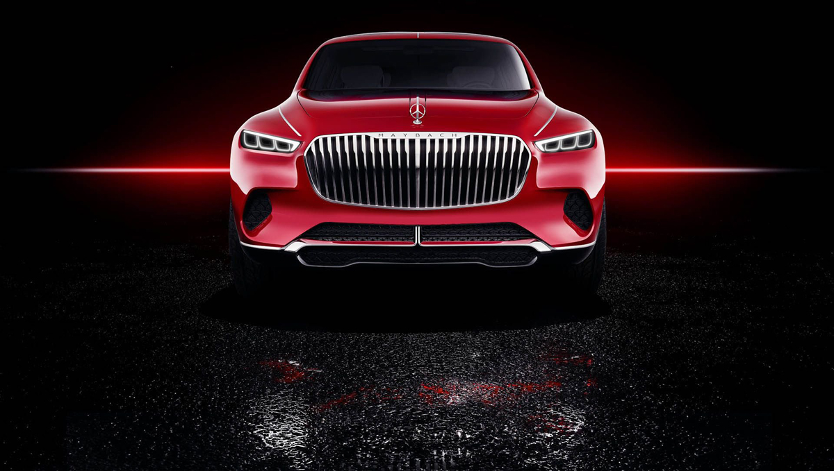 Vision Mercedes Maybach Ultimata Luxury SUV