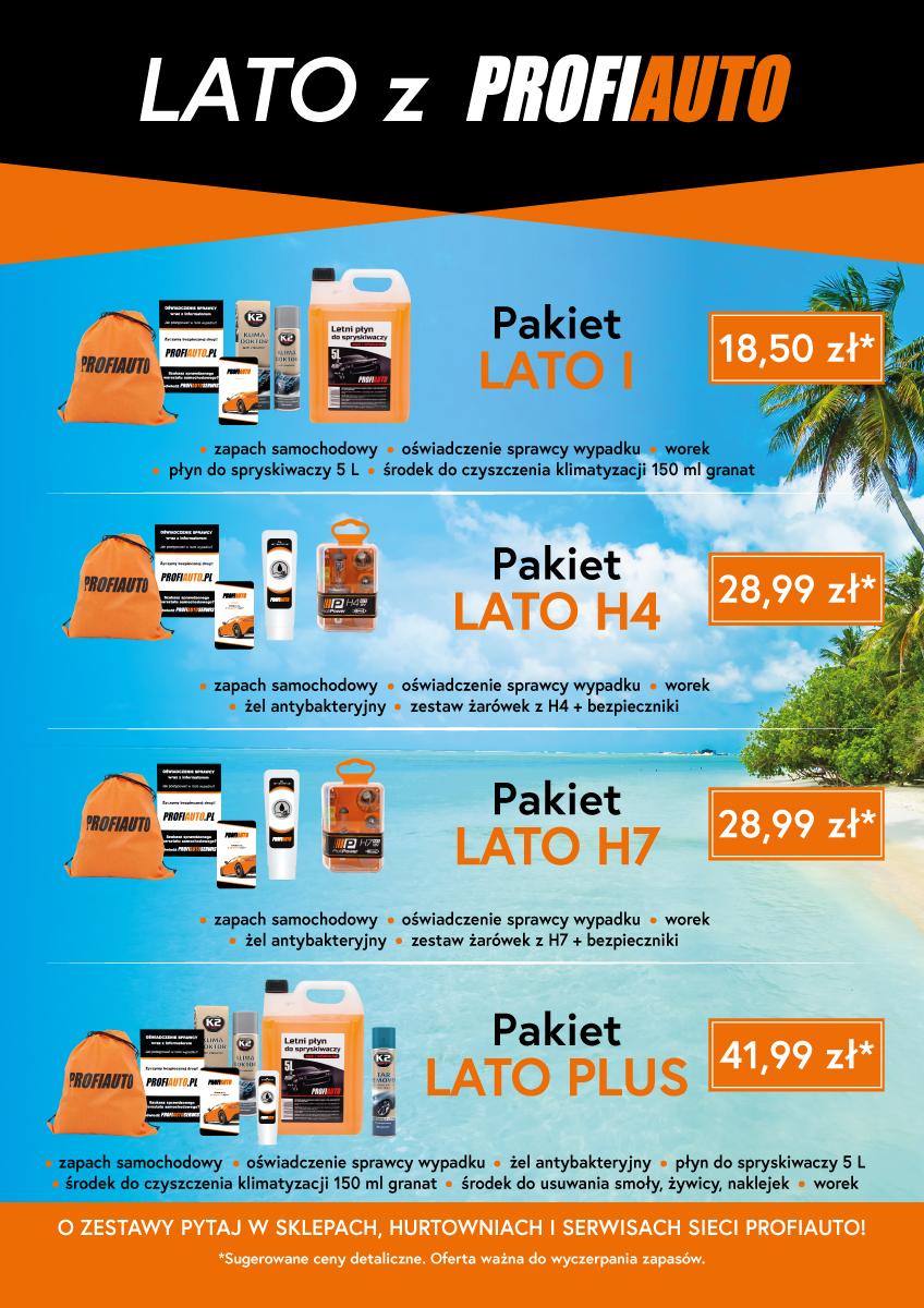 Pakiet letni dla kierowców - LATO z ProfiAuto