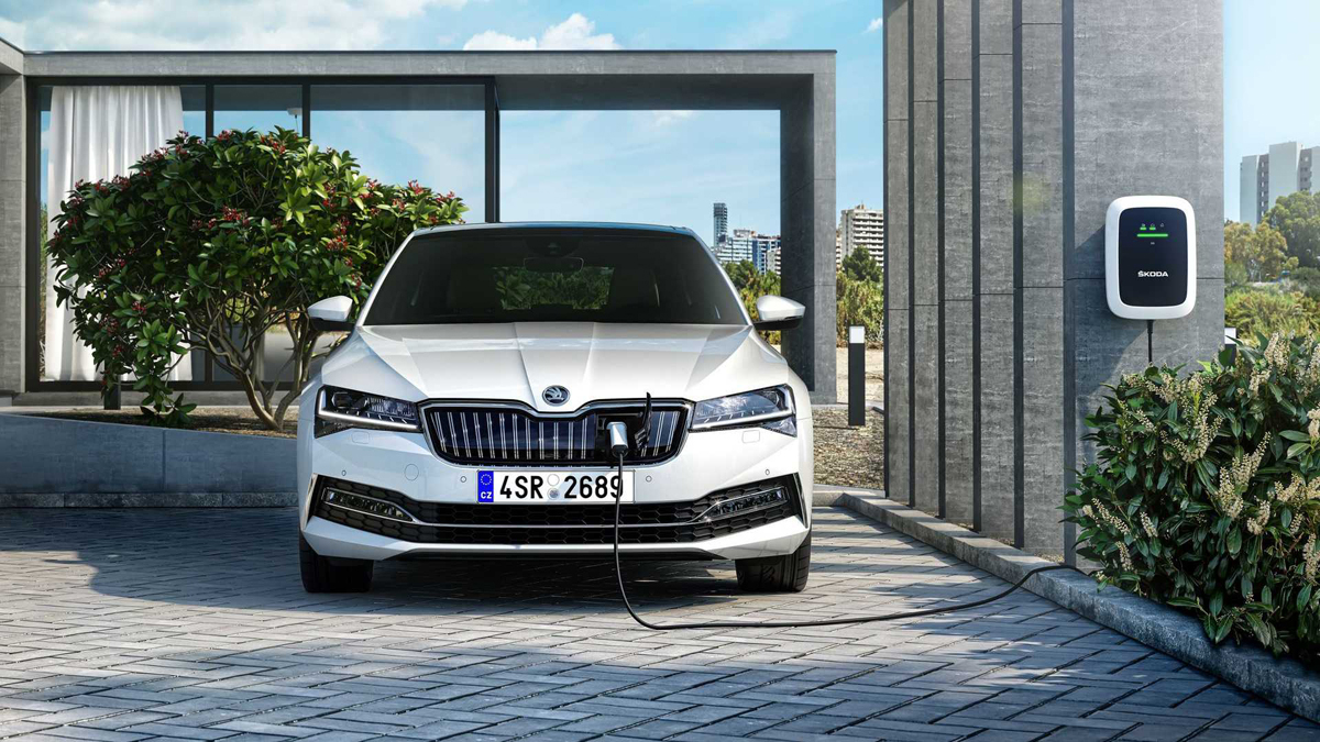 Škoda Superb hybrid typu plug-in